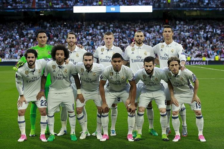 Лучший футбольный клуб реал мадрид